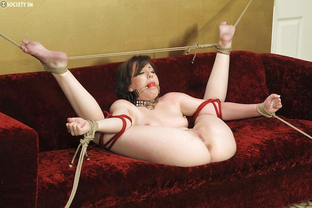 Порно ролик бдсм связанная девушка веревкой #5