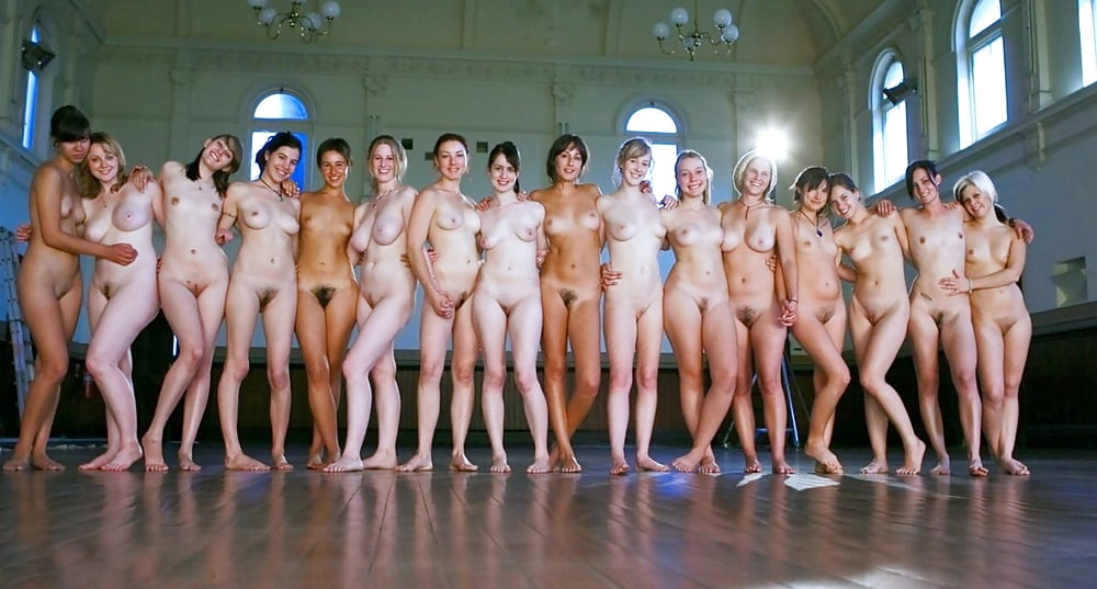 Group full female frontal nudity group 7