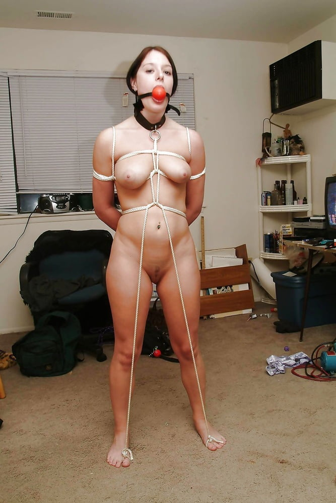 Nude bondage dare #9
