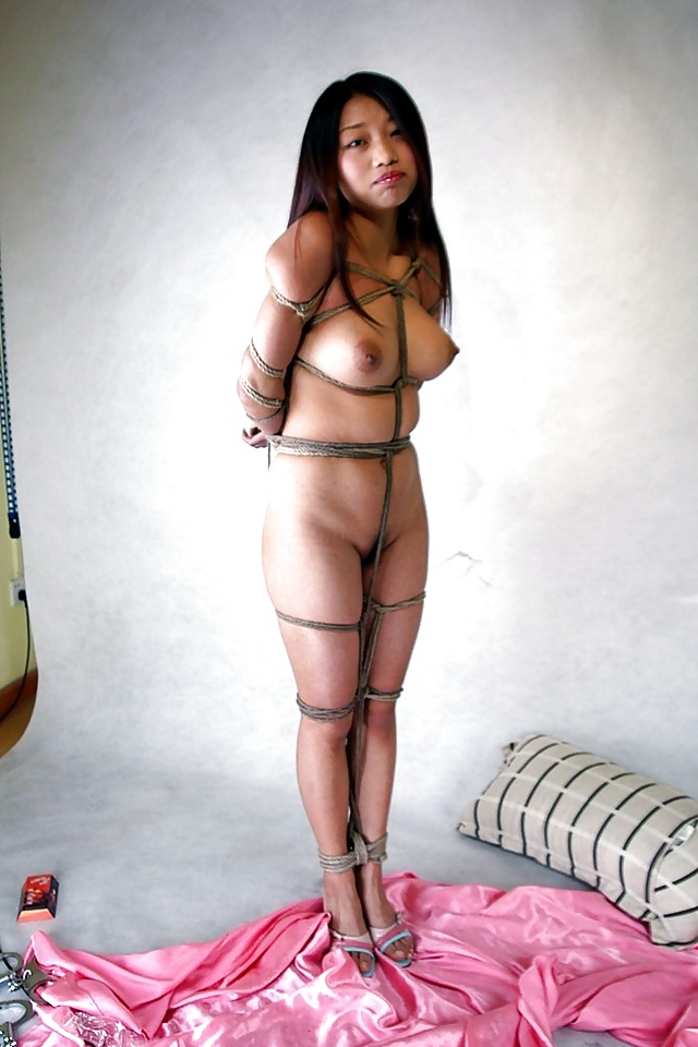 Hot sexy asian women naked tied up