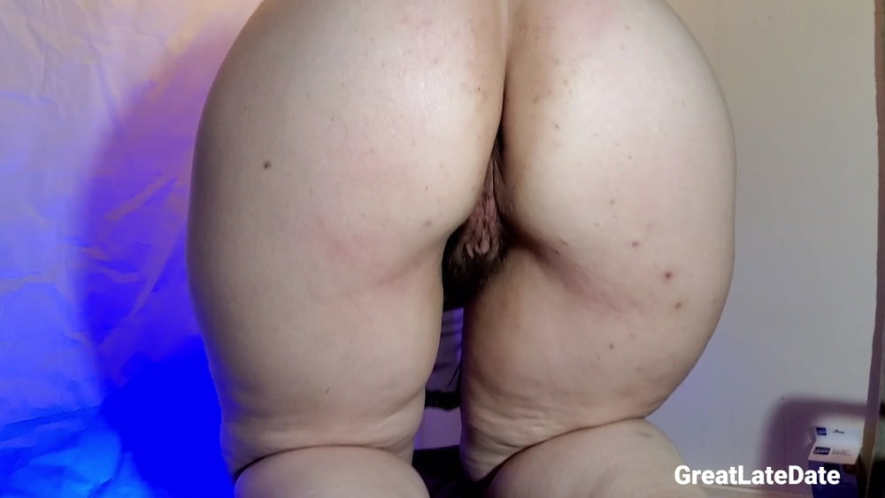Mature Hairy Wife Showing Her Pussy and Ass from Behind - 25 Pics