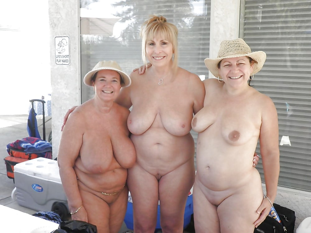 Big boobs granny naked beach — pic 8