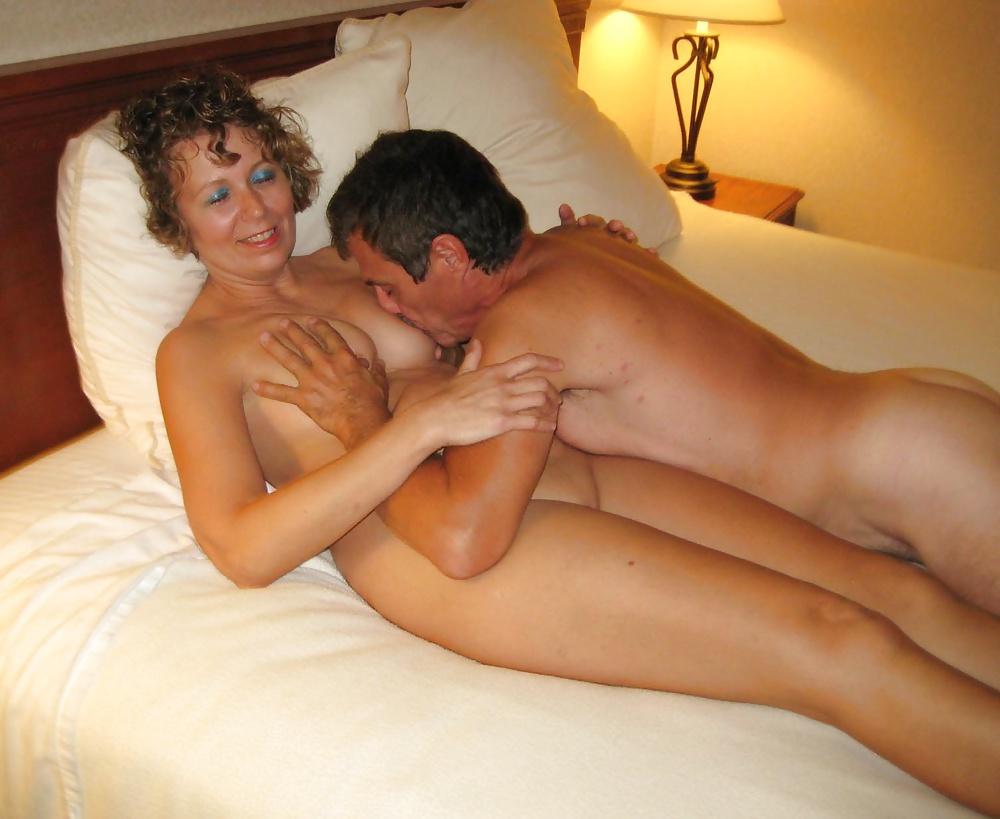Mom Spreading Pussy Son