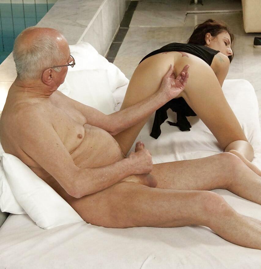 Sleeping Teen Used By Old Man