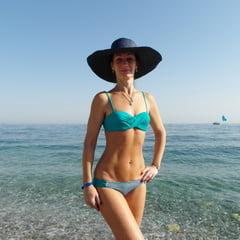 On Beach Of Alania, Turkey