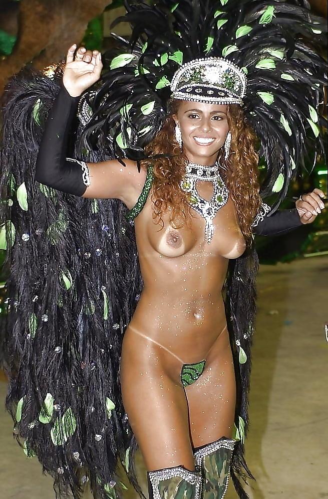 Carnival brazil samba girls nude