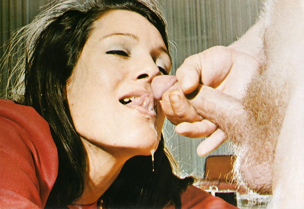 Vintage Classic Retro Porn Cum Shot