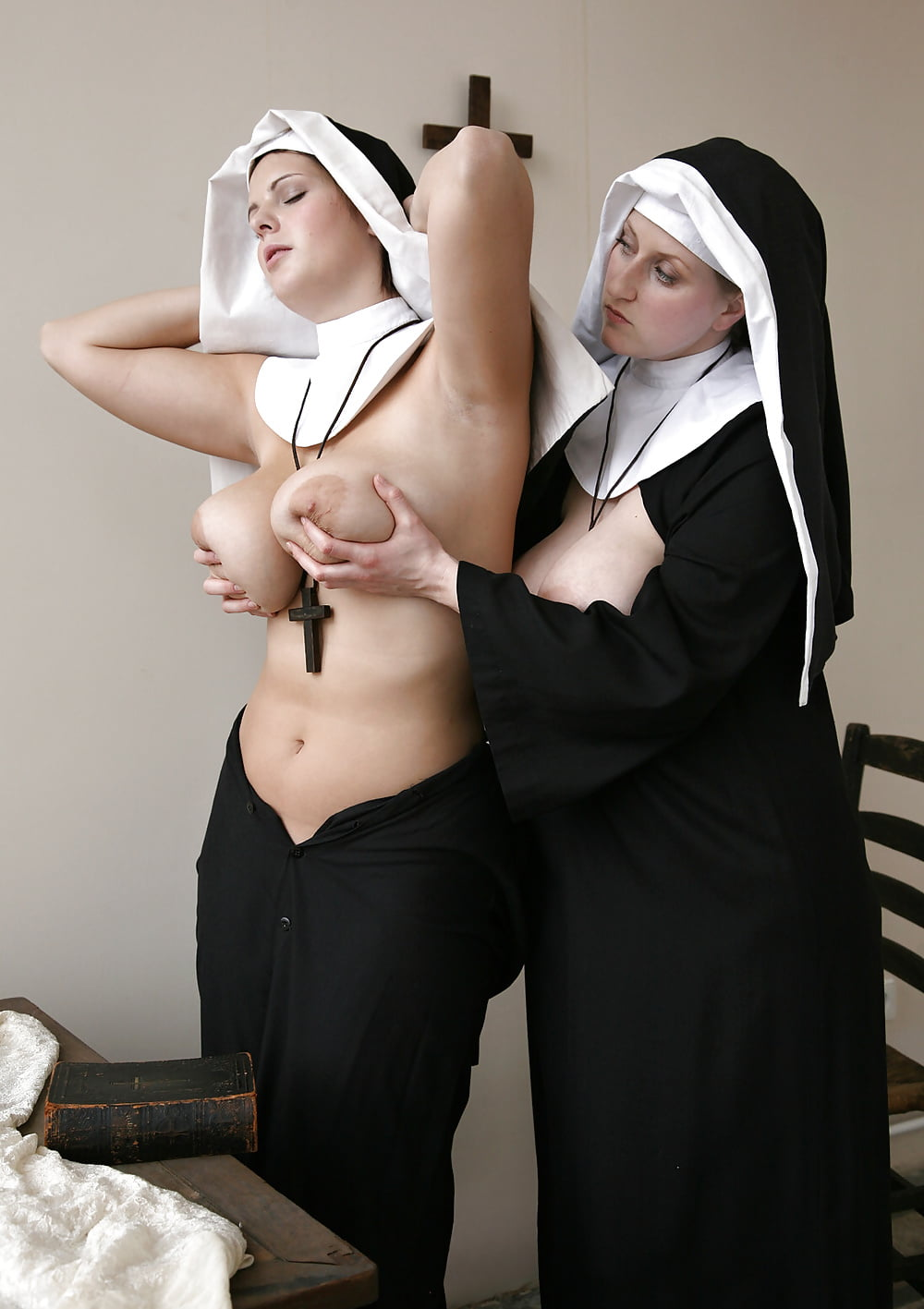 Picture of a busty nun, german mother daughter sex foto