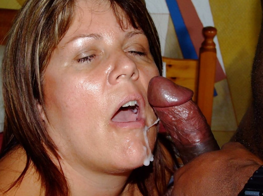Amateur Housewife Sucks And Swallows Cum