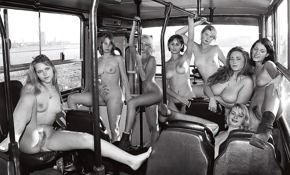 Советские ретро обнаженные девушки #14