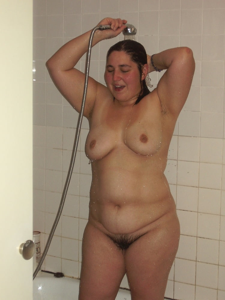 Fucked a fat woman in the bathroom