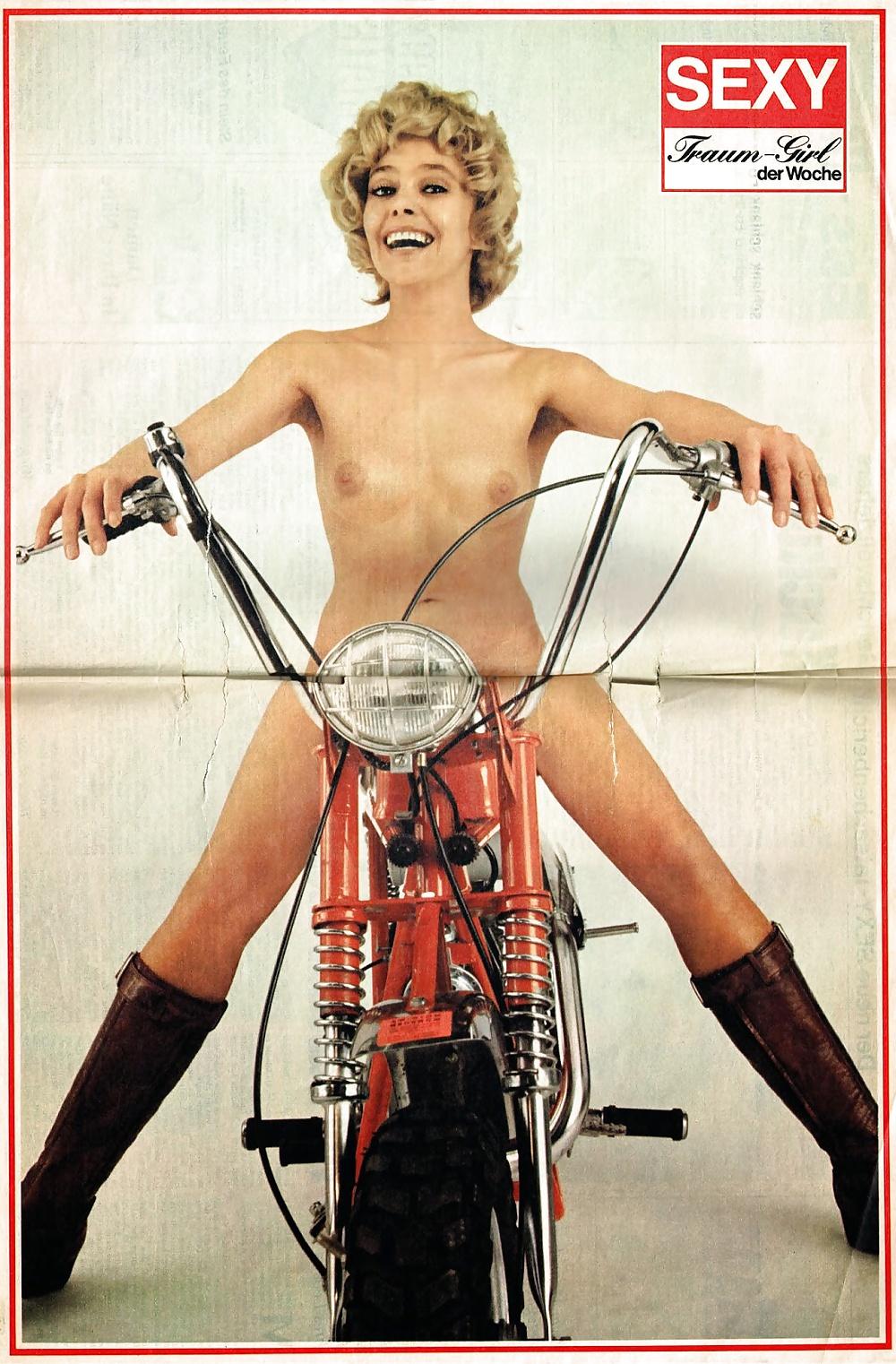 Bike with girl-1495
