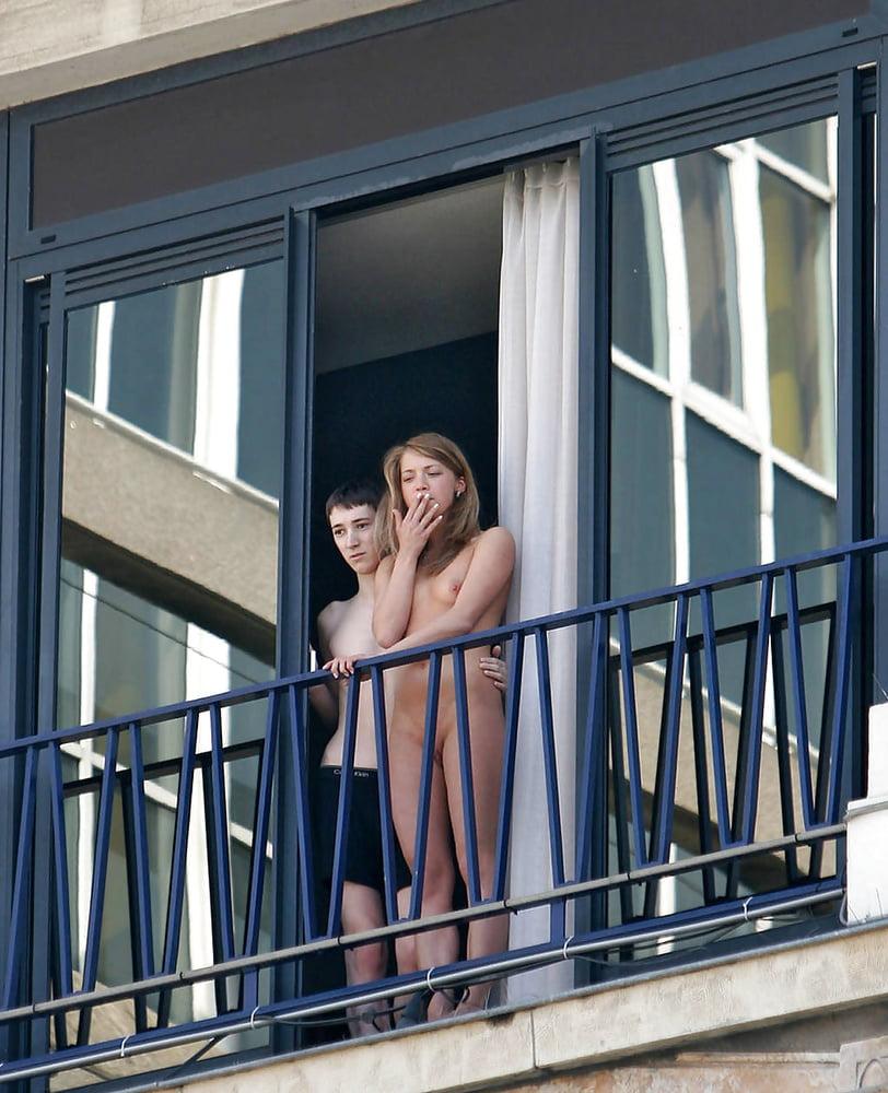 Couple Imageed Having Sex Through Window As Bystanders Watch In Street