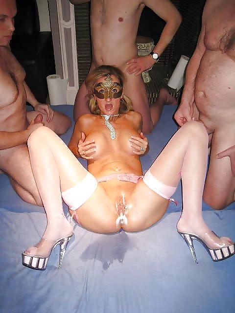 Gangbang queen natascha