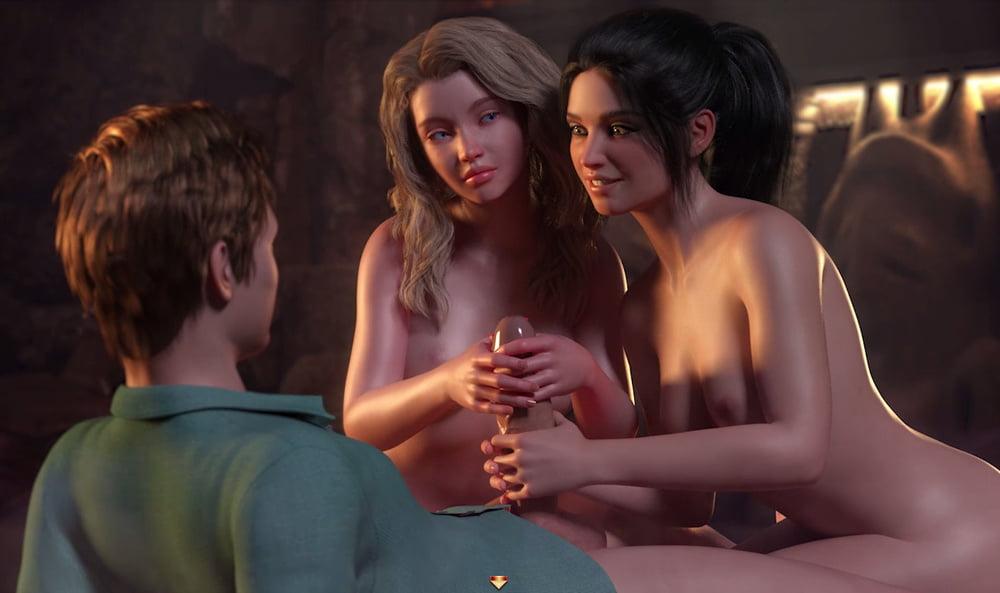 Threesome - 34 Pics
