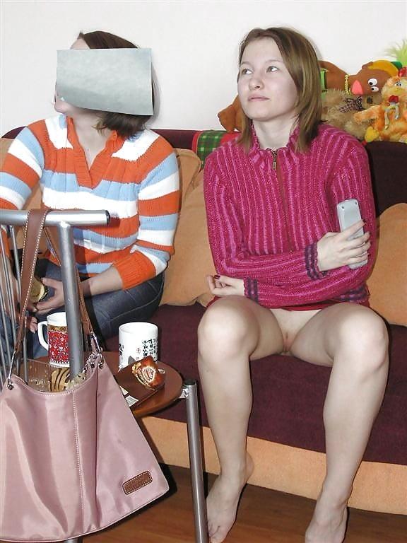 Под юбкой у жены друга