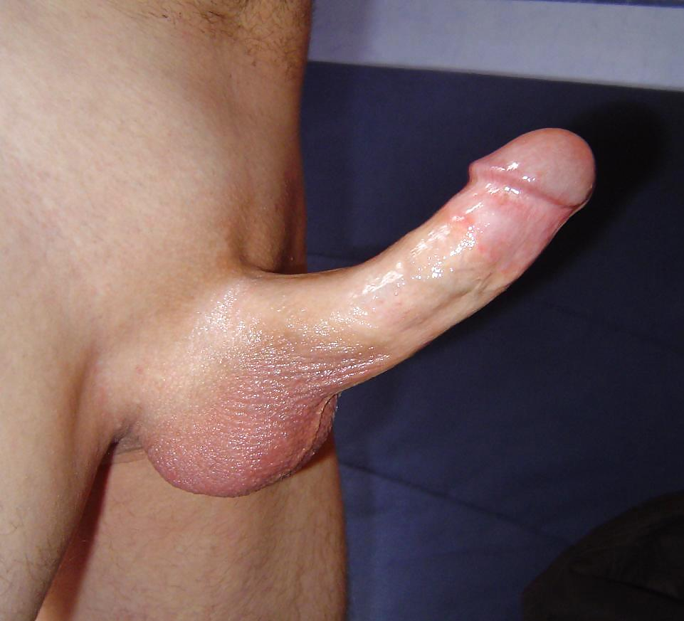 Smooth Shaved Cock Close Up