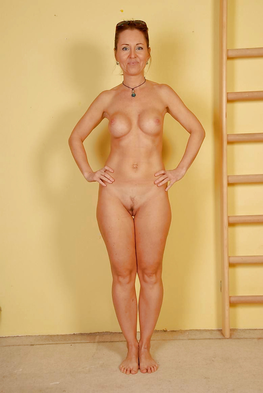 Fully Nude Woman