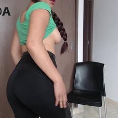 Keralagirl Leggings Tits And Pigtailsbobs