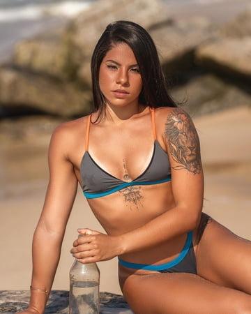 nackt de Oliveira Ingrid Brazilian diver