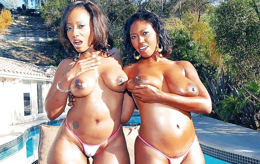 Две красивые негритянки жопастые эротика #9