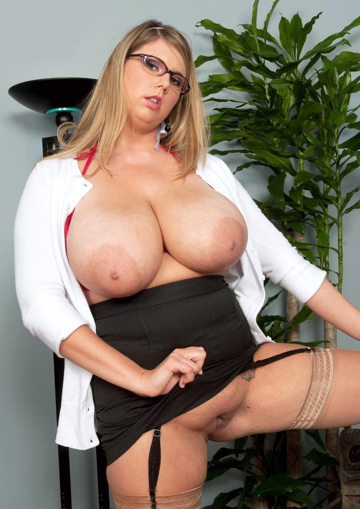 Secretary With Big Breasts