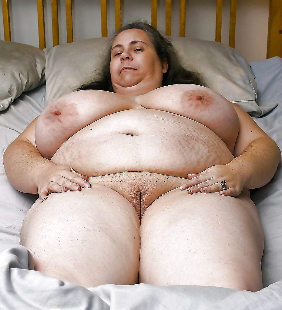 Big fat mature titted