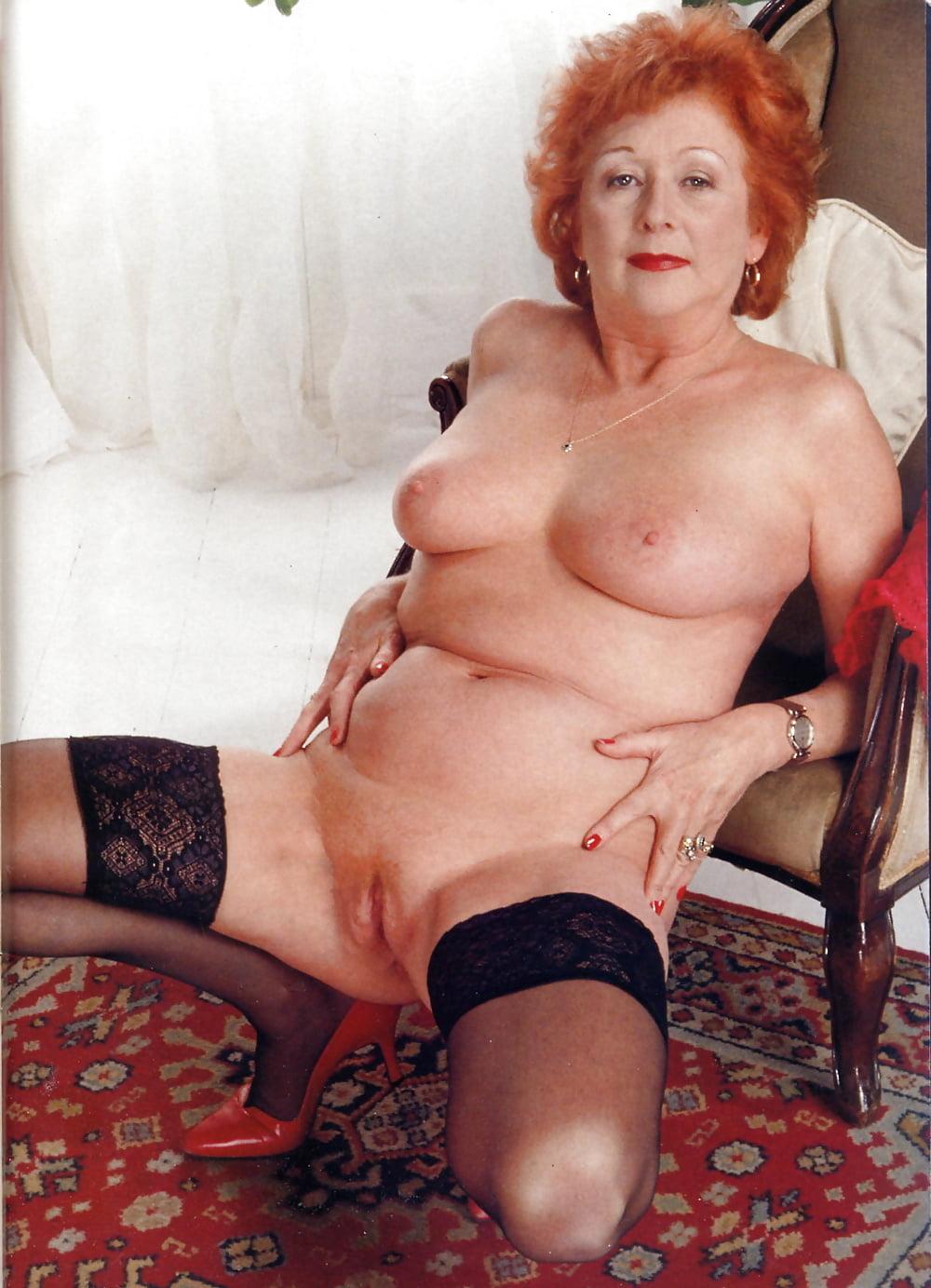 Glamour grandma porn, girls nude high heels