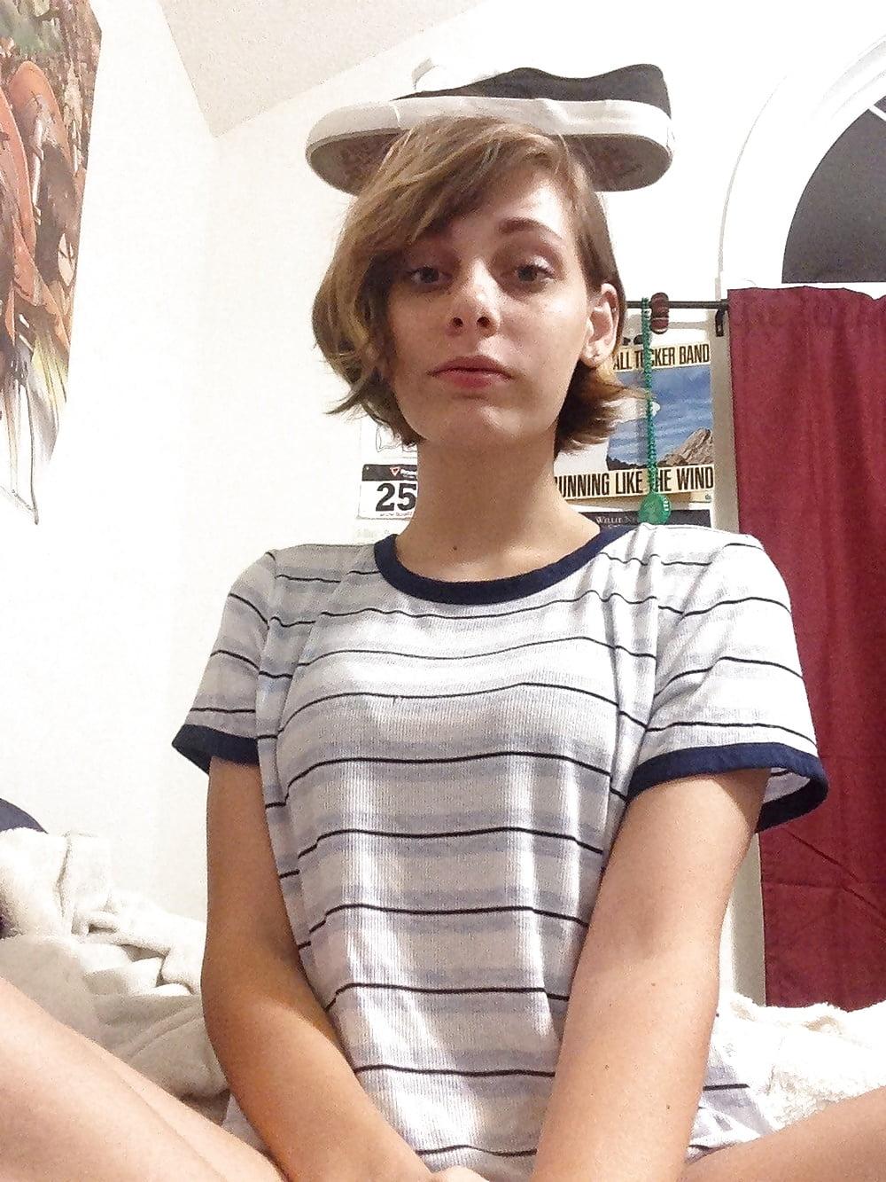 Nerdy Teen Slut Selfies - 57 Pics | xHamster