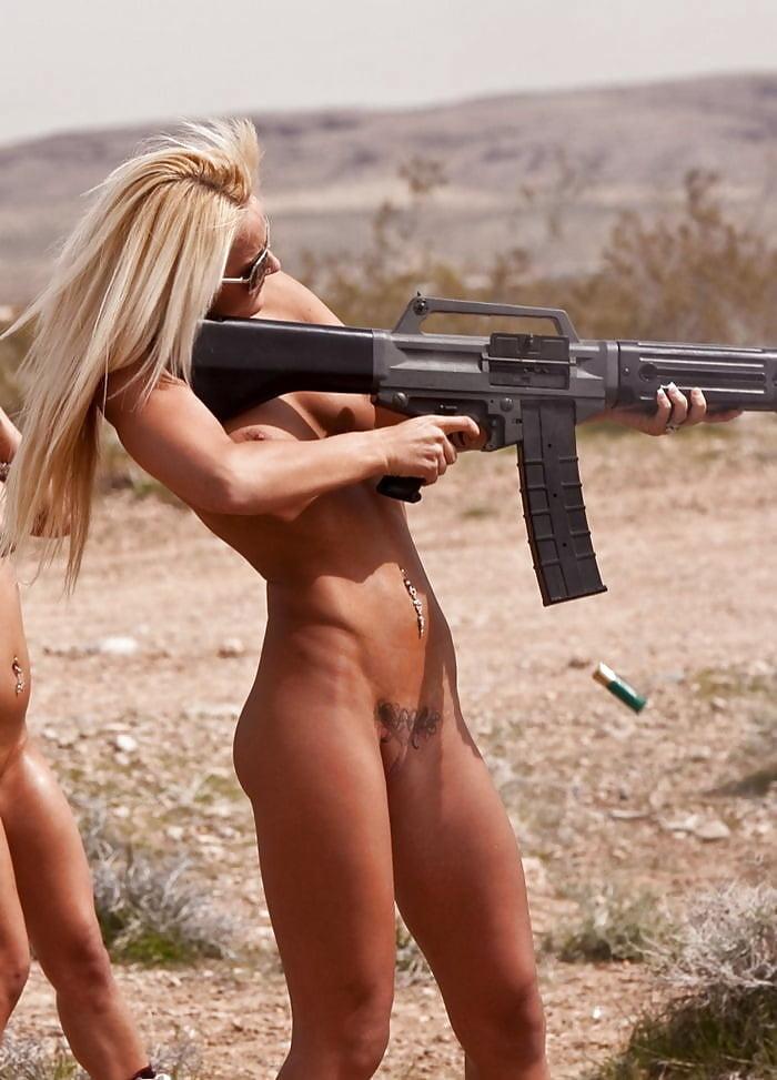 Девушки с оружием видео порно — img 8