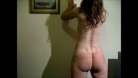 Nude Girlfriend Whipped on Breasts, Buttocks and Back - 6 Pics