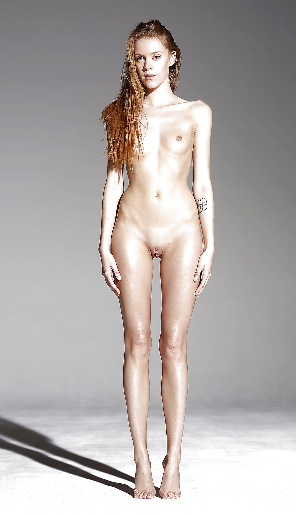 Tall skinny blonde nude