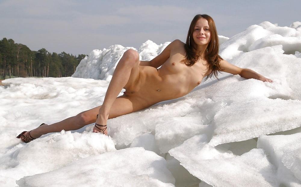 фото голой гимнастки на морозе - 13