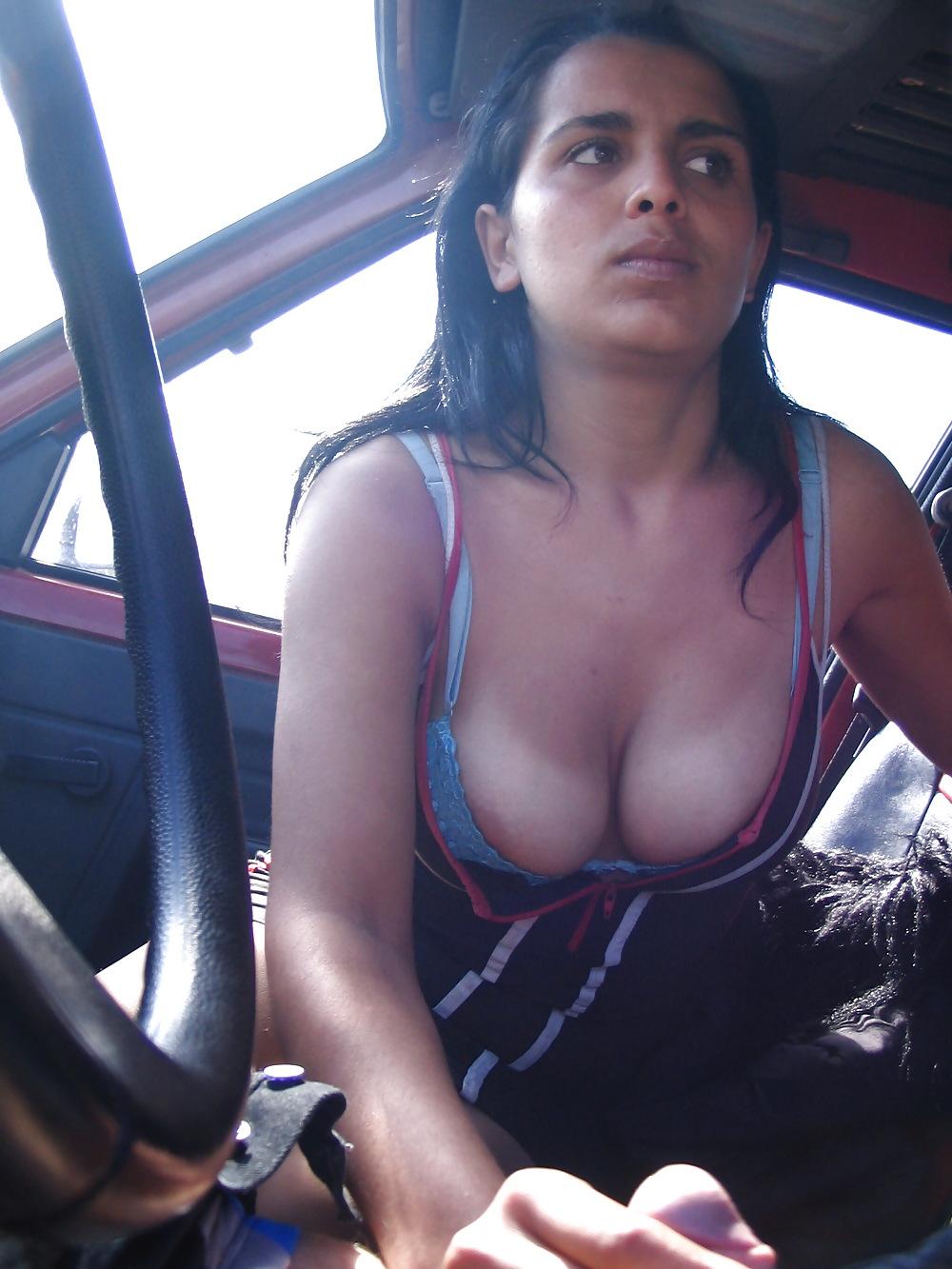 Real Street Hooker Prostitute Carwhore P2 - 23 Bilder -3488
