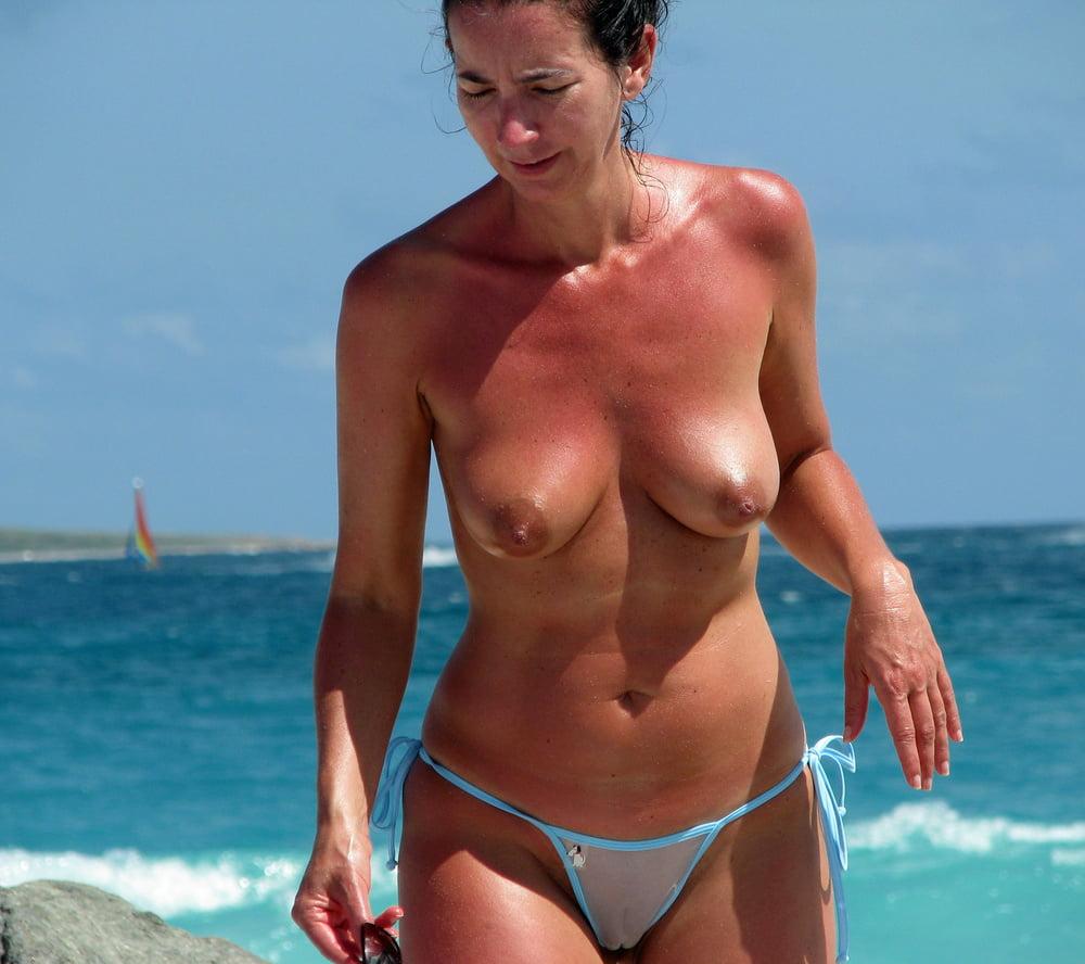 Free nude beach pics beach voyeur
