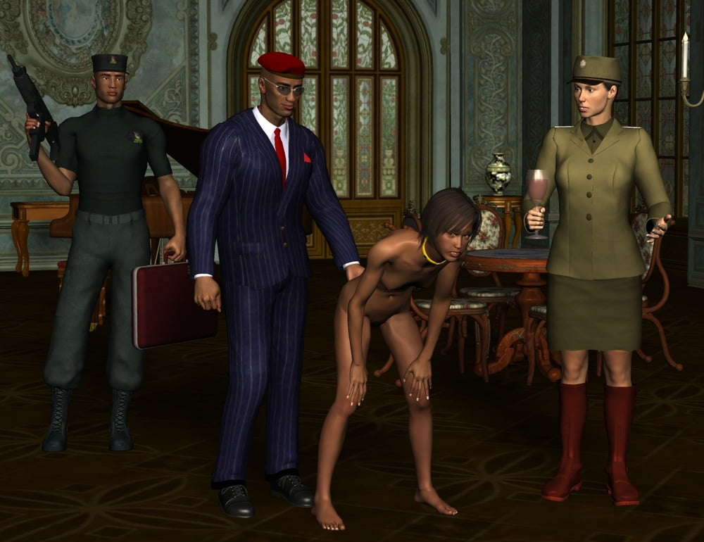 Lesbian being punished