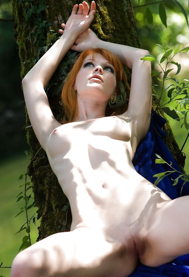 Beautiful naked young ladies