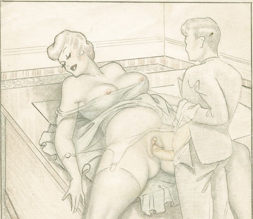 Granny porn drawing