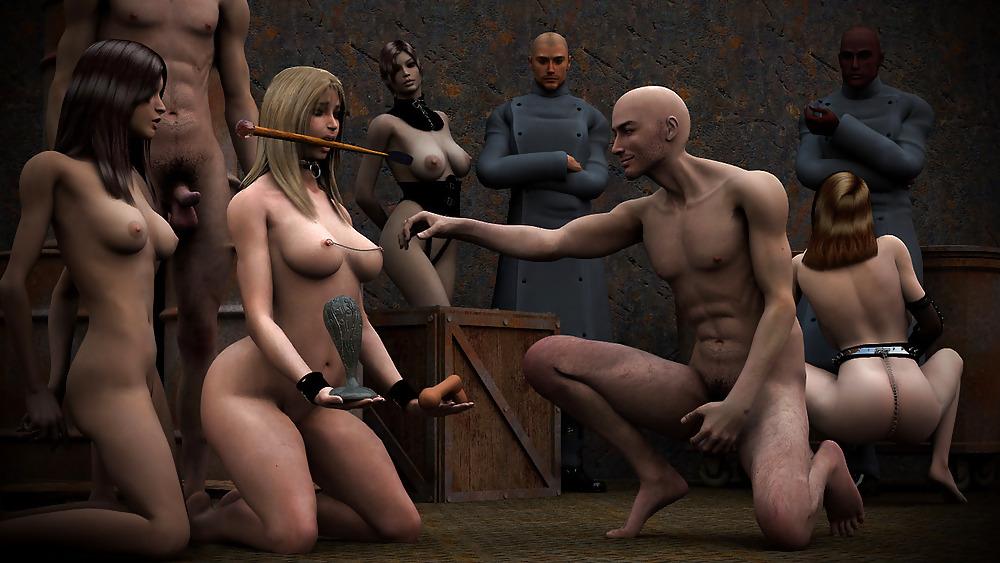 Sodomie francais shaved nape and neckline