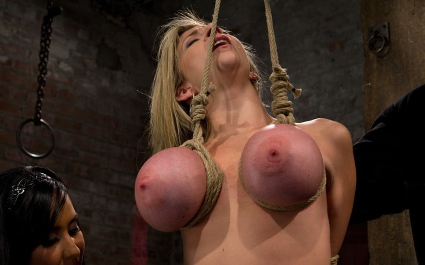 Video girl suspended by breasts — pic 8