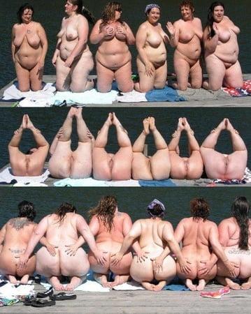 Nackte Frauen Gruppe