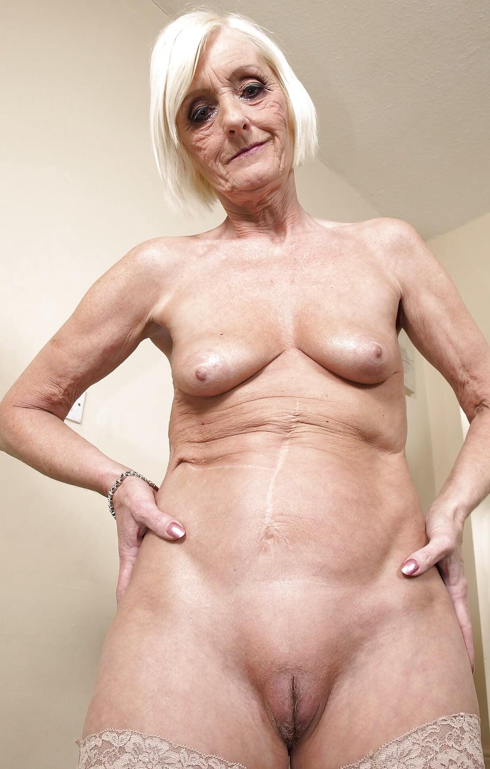 Granny nude gagger — 8