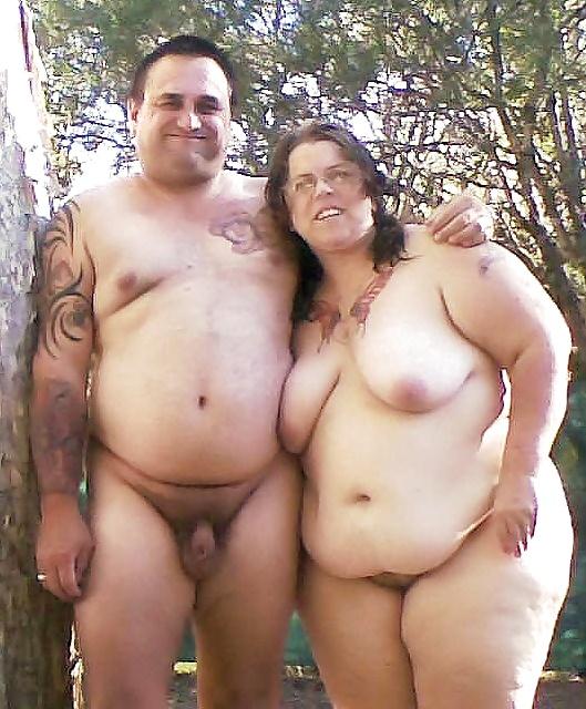 Chubby ebony nudist couple porn