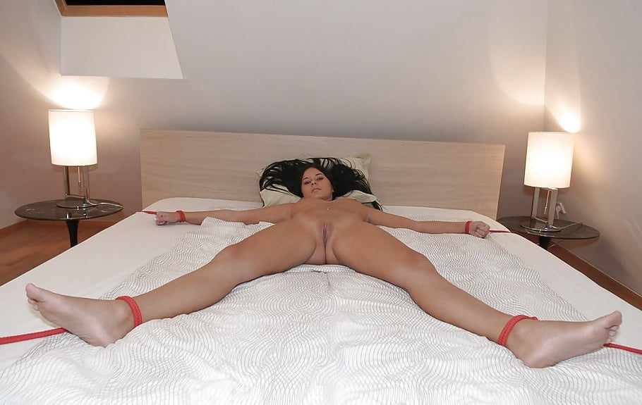 Girl tied up in bed naked lesbains xxx bookmark