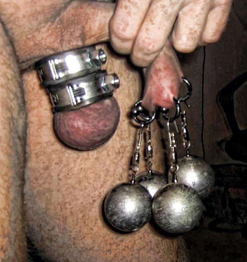 Cock and ball binding