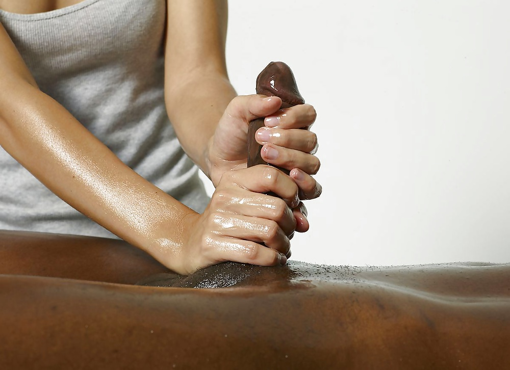 Erotic penis massage video