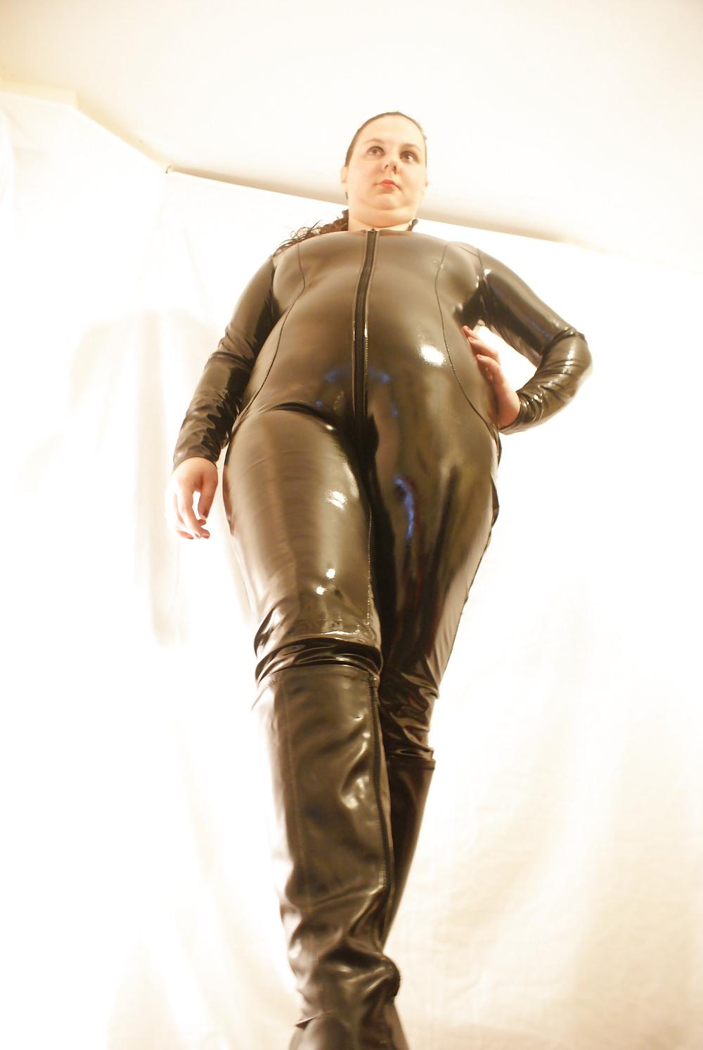latex catsuit Full