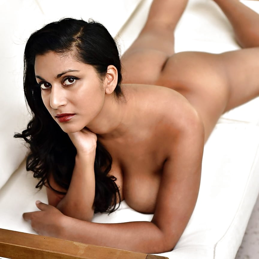 Nude indian fitness model