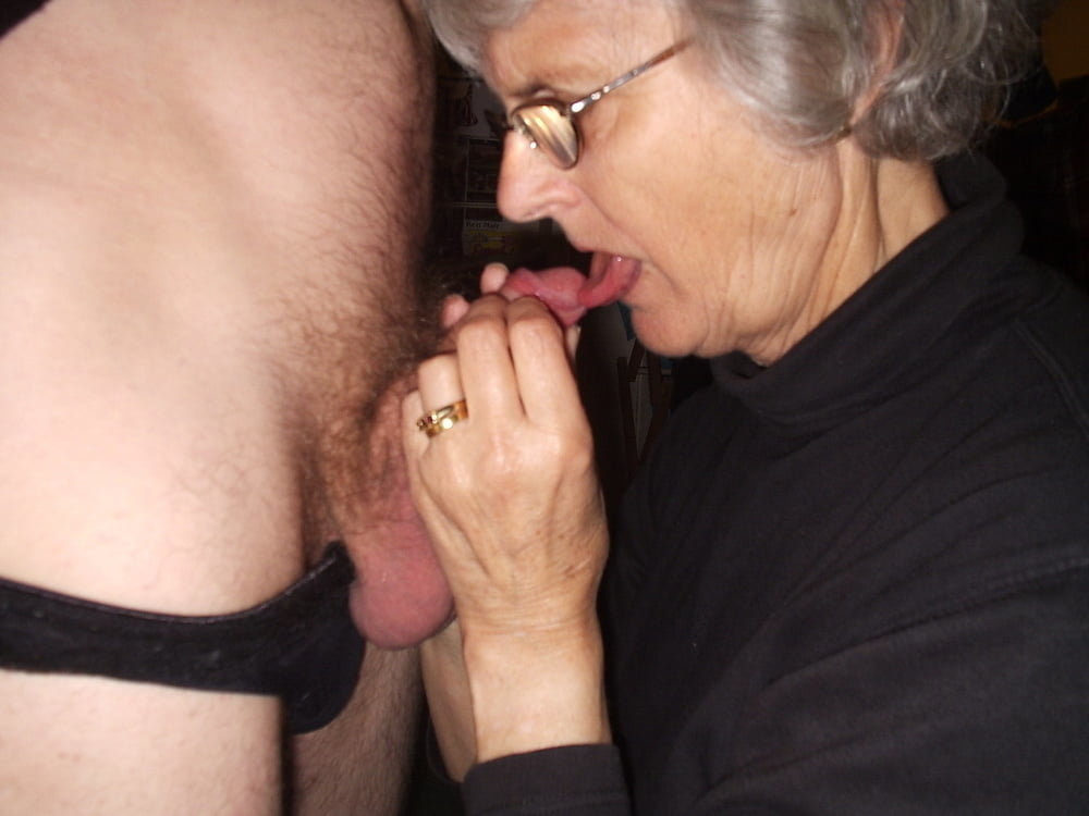 Video grandma give blowjob rockbell cosplay