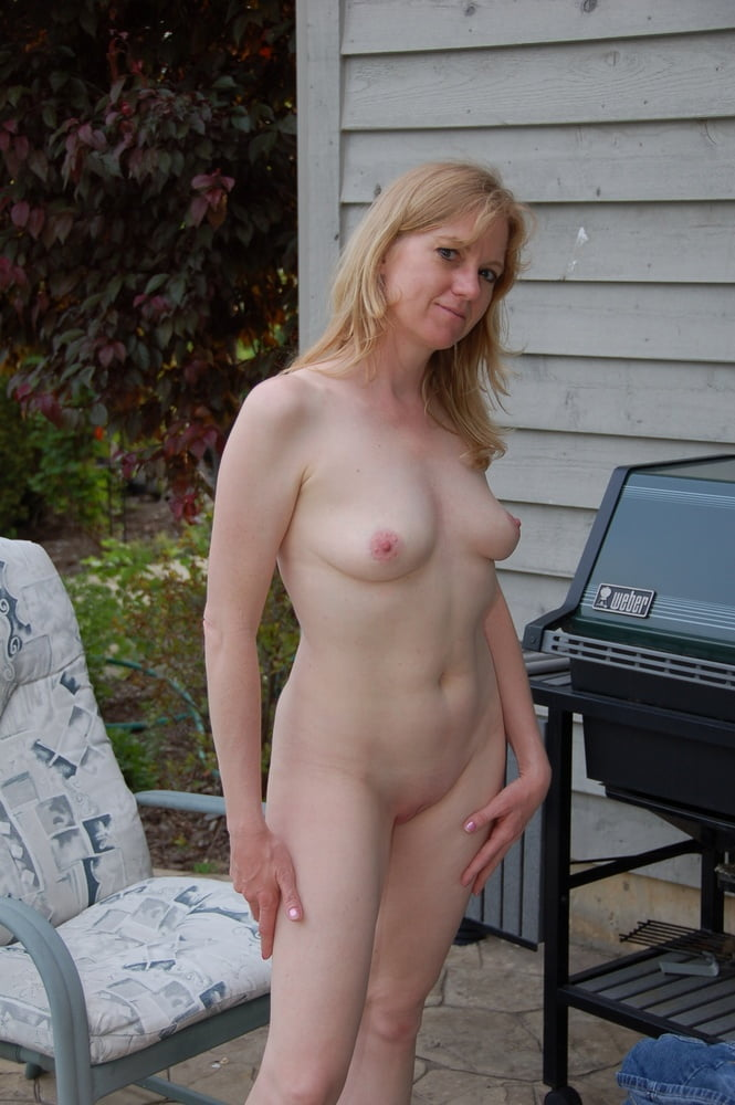 Male my wife naked in a field